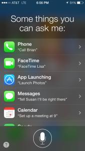 Siri Categories